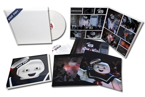 """Ray Parker Jr. & Run-DMC Ghostbusters: Stay Puft Edition 12"""" Vinyl (Marshmallow Scented White Vinyl)"""
