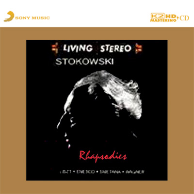 Stokowski Rhapsodies Numbered Limited Edition K2 HD Japanese Import CD