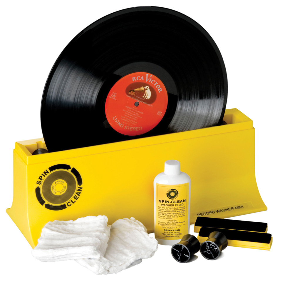 Spin Clean Washer MkII Record Cleaner