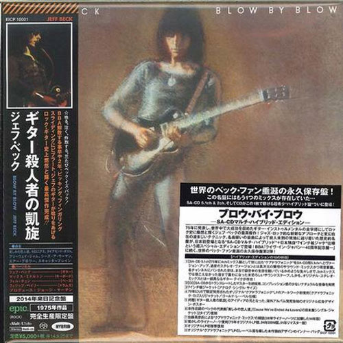 Jeff Beck Blow By Blow Hybrid Stereo & Multi-Channel Japanese Import SACD