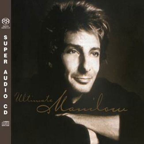 Barry Manilow Ultimate Manilow Numbered Limited Edition Hybrid Stereo Import SACD