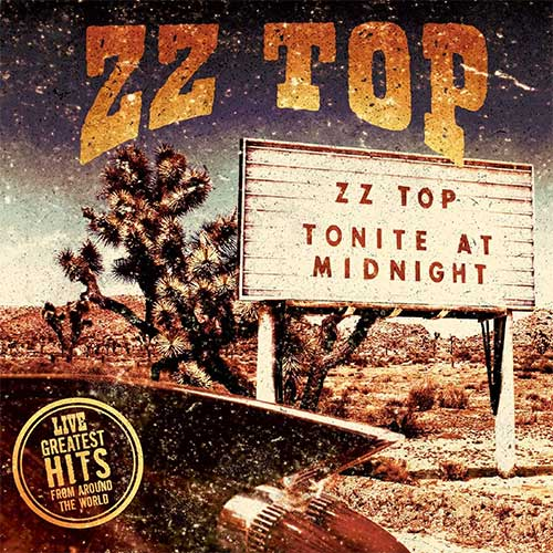 ZZ Top Live! Greatest Hits From Around the World 180g 2LP