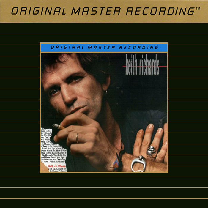 Keith Richards Talk Is Cheap Gold CD