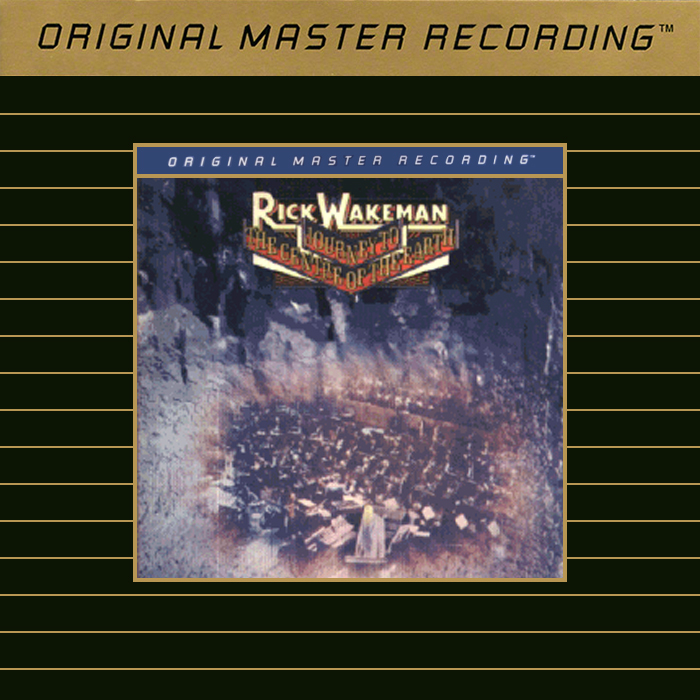 Rick Wakeman Journey To The Center Of The Earth Gold CD