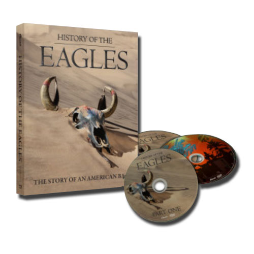 The Eagles History Of The Eagles 3 Blu-Ray Discs