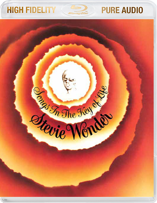 Stevie Wonder Songs In The Key Of Life Blu-Ray Pure Audio Disc