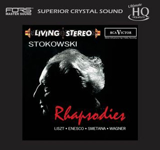 Stokowski Rhapsodies Numbered Limited Edition Japanese Import UHQCD