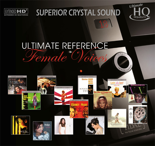 Ultimate Reference Female Voices Numbered Limited Edition Japanese Import UHQCD