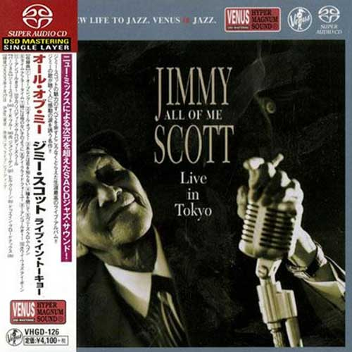 Jimmy Scott All Of Me Live In Tokyo Single-Layer Stereo Japanese Import SACD
