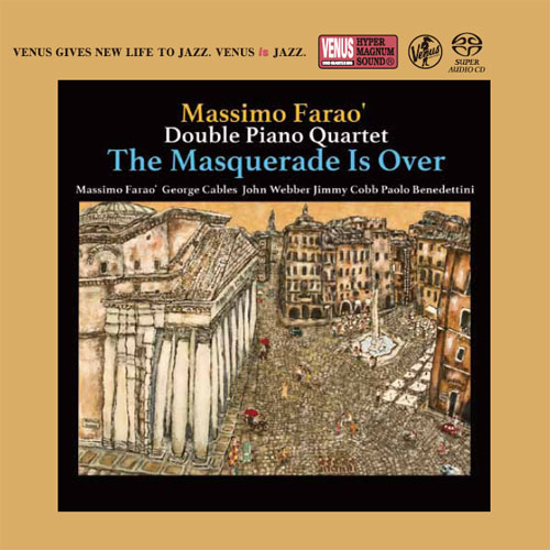 The Massimo Farao' Double Piano Quartet The Masquerade Is Over Single-Layer Stereo Japanese Import SACD