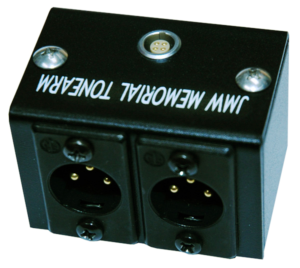 VPI JMW XLR Junction Box With Premium Nordost Reference Wire