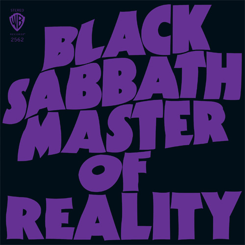 Black Sabbath Master of Reality Deluxe Edition 180g 2LP