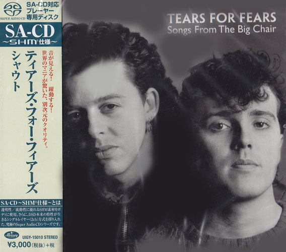 Tears For Fears Songs From the Big Chair Single-Layer Stereo Japanese Import SHM-SACD