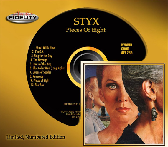 Styx Pieces of Eight Numbered Limited Edition Hybrid Stereo SACD