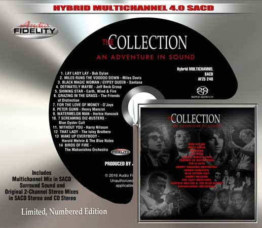 The Collection An Adventure In Sound Numbered Limited Edition Hybrid Multi-Channel & Stereo SACD