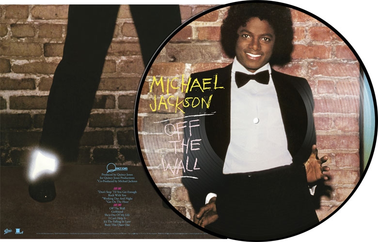 Michael Jackson Off The Wall LP (Picture Disc)