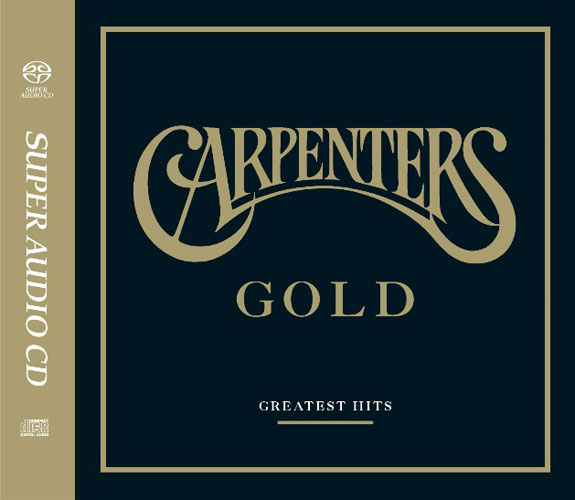 The Carpenters Gold Greatest Hits Numbered Limited Edition Hybrid Stereo Japanese Import SACD