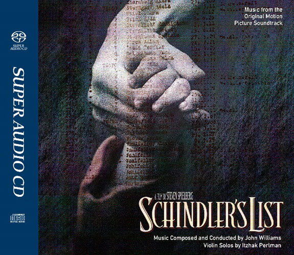 John Williams Schindler's List Soundtrack Numbered Limited Edition Hybrid Stereo Japanese Import SACD