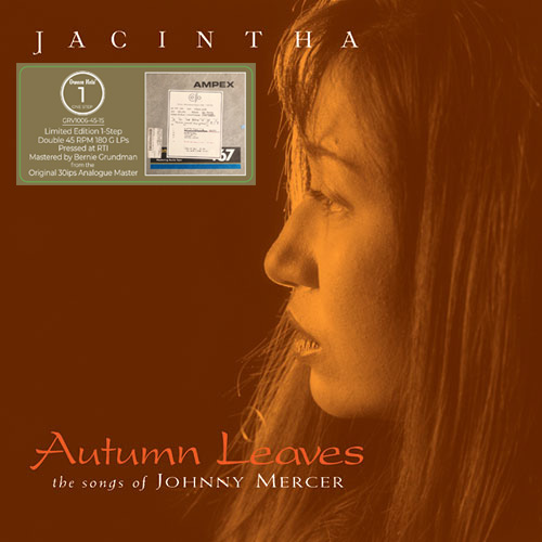 Jacintha Autumn Leaves: The Songs of Johnny Mercer One-Step Numbered Limited Edition 180g 45rpm 2LP
