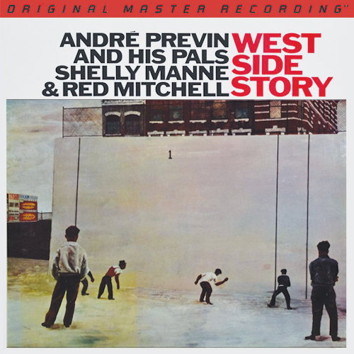 Andre Previn Manne & Mitchell West Side Story LP