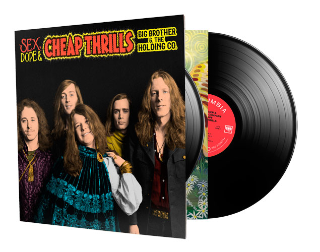 Big Brother & The Holding Company with Janis Joplin Sex Dope & Cheap Thrills 2LP