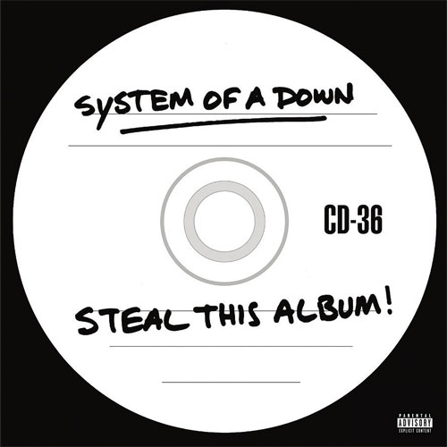 System of A Down Steal This Album! 2LP