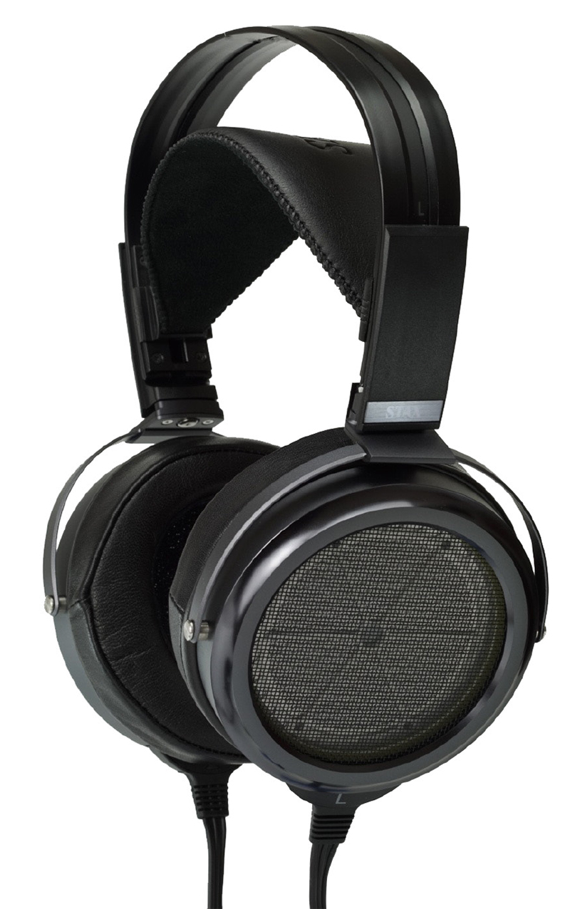 Stax SR-009 Limited Edition 80th Anniversary Open Back Headphones (Black)