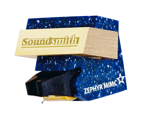 Certified Factory Rebuilt Soundsmith Zephyr MIMC Star MI Cartridge 0.4mV (Low Compliance)