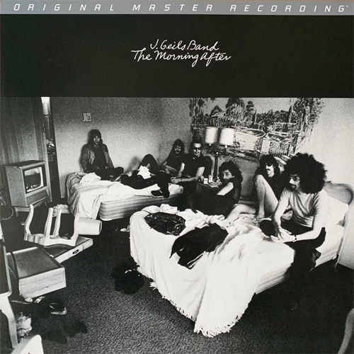 The J. Geils Band The Morning After Numbered Limited Edition 180g LP