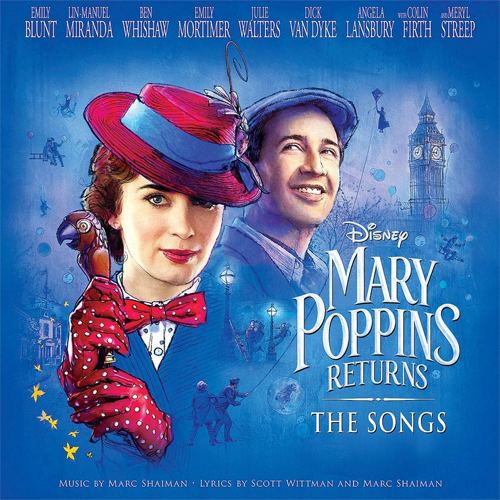 Mary Poppins Returns: The Songs LP