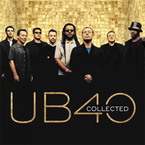 UB40 Collected Numbered Limited Edition 180g Import 2LP (Gold Vinyl)