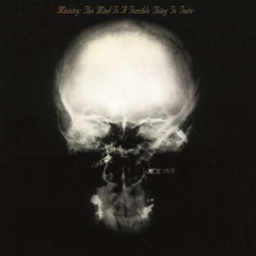 Ministry The Mind Is A Terrible Thing To Taste Numbered Limited Edition 180g Import LP (Clear & Black Mixed Vinyl)