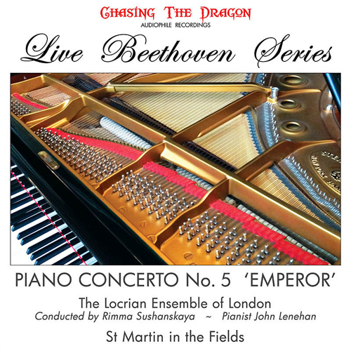 The Locrian Ensemble of London Live Beethoven Series: Piano Concerto No. 5 'Emperor' 180g Import LP
