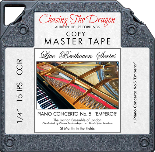 The Locrian Ensemble of London Live Beethoven Series: Piano Concerto No. 5 'Emperor' Master Quality Reel To Reel Tape