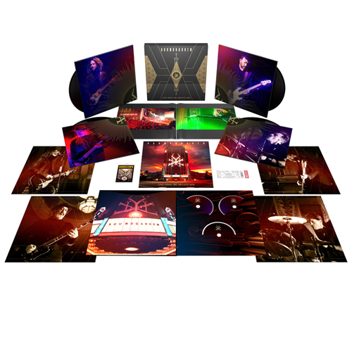 Soundgarden Live From The Artists Den Numbered Limited Edition 180g 4LP, 2CD & Blu-Ray Box Set
