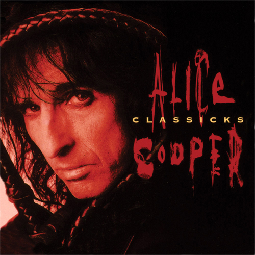 Alice Cooper Classicks: The Best of Alice Cooper 180g LP (Translucent Blue & Black Swirl Vinyl)