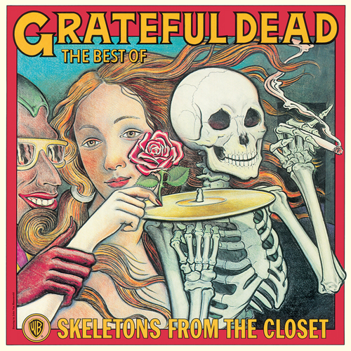 The Grateful Dead Skeletons From the Closet: The Best of The Grateful Dead LP (White Vinyl)
