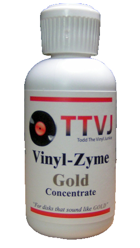 TTVJAudio Vinyl Zyme Record Cleaner 2oz Concentrate