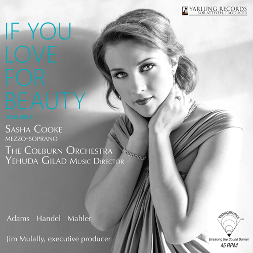 Sasha Cooke If You Love For Beauty Volume 1 180g 45rpm LP