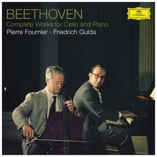 Beethoven Complete Works for Cello & Piano/Fournier, Gulda Hand-Numbered Half-Speed Mastered 180g 3LP Box Set