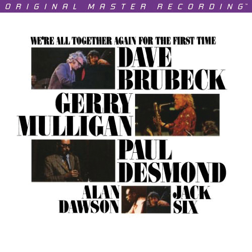 Dave Brubeck We're All Together For the First Time Numbered Limited Edition 200g LP