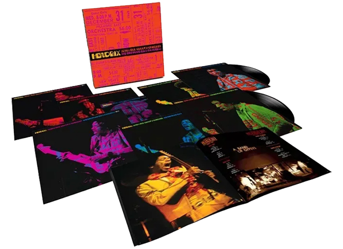 Jimi Hendrix Songs For Groovy Children: The Fillmore East Concerts Numbered Limited Edition 180g Vinyl 8LP Box Set