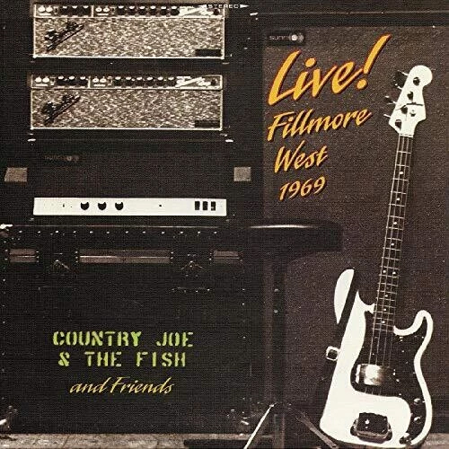 Country Joe & The Fish and Friends Live! Fillmore West 1969 2LP (Yellow Vinyl)