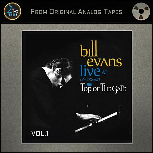 Bill Evans Live At Art D'Lugoff's Top Of The Gate Vol. 1 Master Quality Reel To Reel Tape