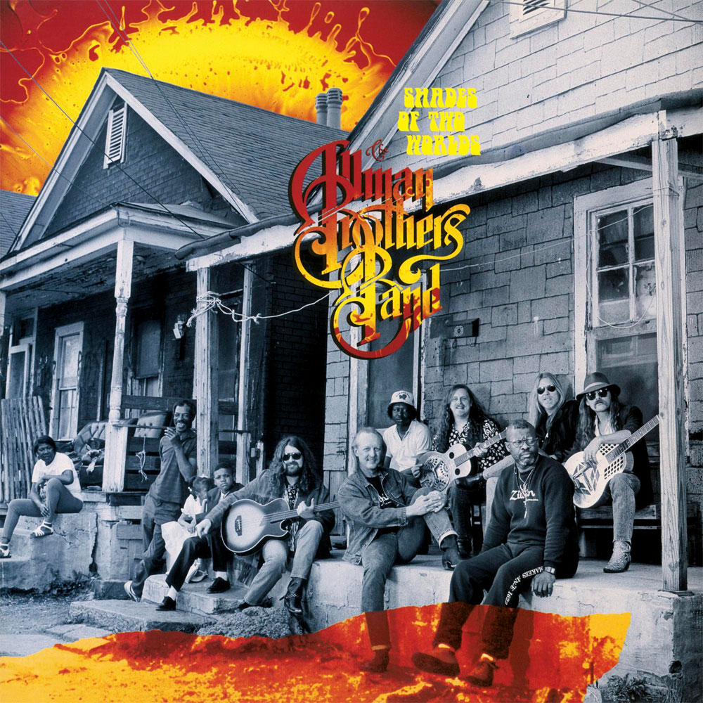 The Allman Brothers Band Shades Of Two Worlds 180g LP (Red & Orange Swirl Vinyl)