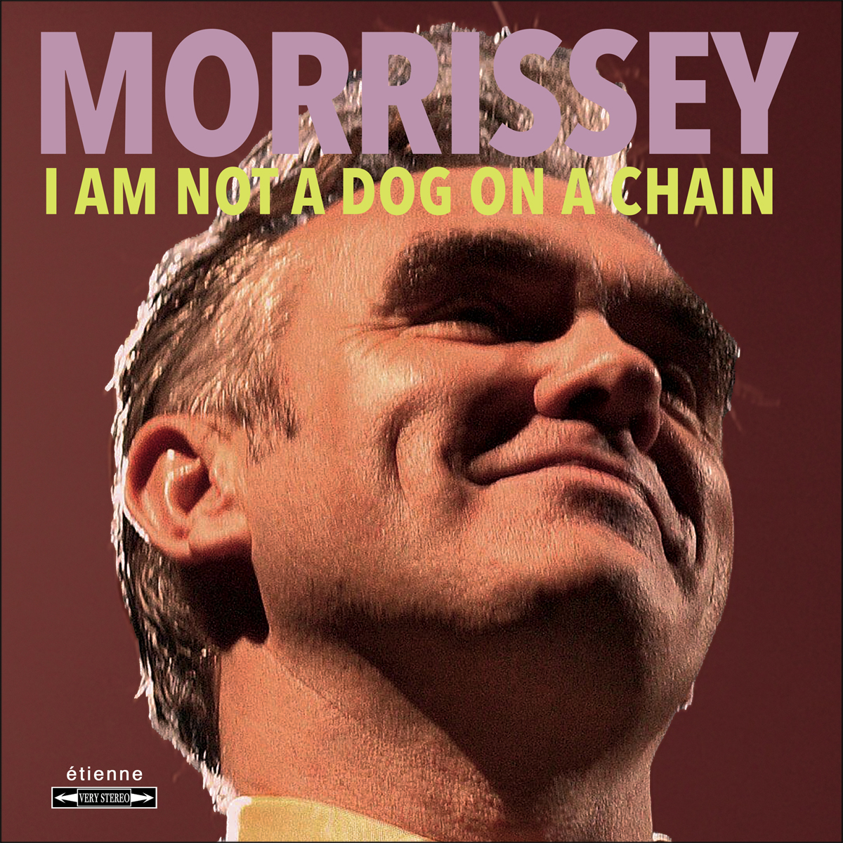 Morrissey I Am Not A Dog On A Chain LP