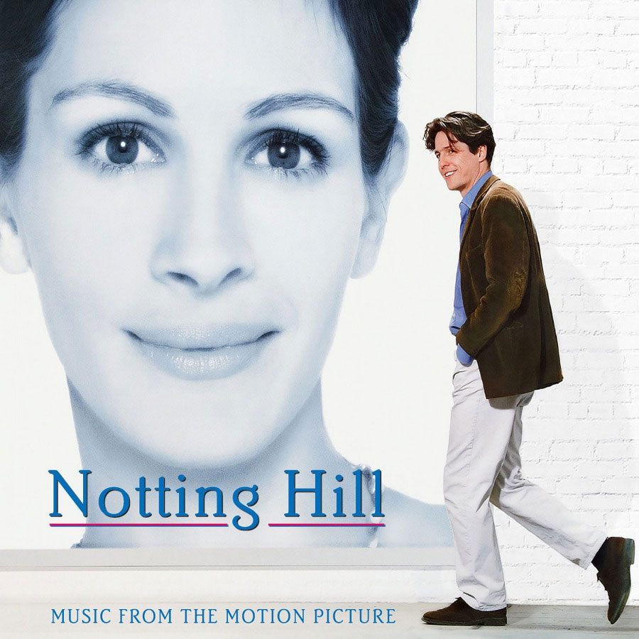 """Notting Hill Soundtrack Numbered Limited Edition 180g LP (""""Pink Heart"""" Vinyl)"""