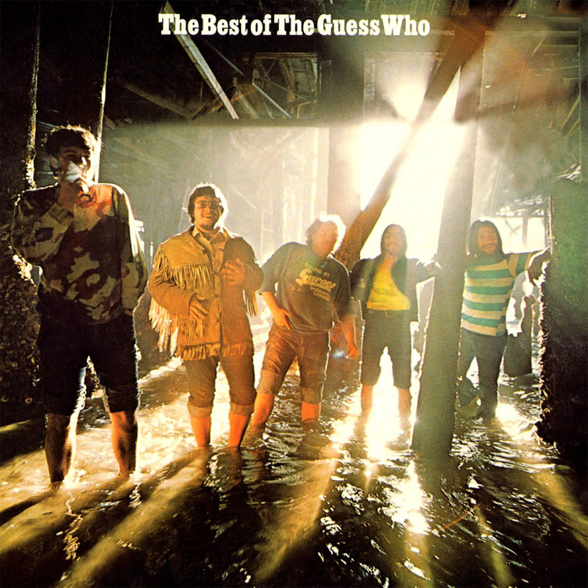 The Guess Who The Best of The Guess Who 180g LP (Translucent Gold Vinyl)