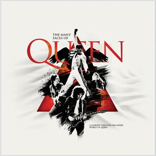 The Many Faces of Queen 180g 2LP (Red Vinyl)
