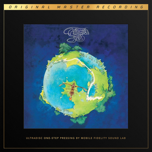 Yes Fragile Numbered Limited Edition 180g 45rpm SuperVinyl 2LP Box Set